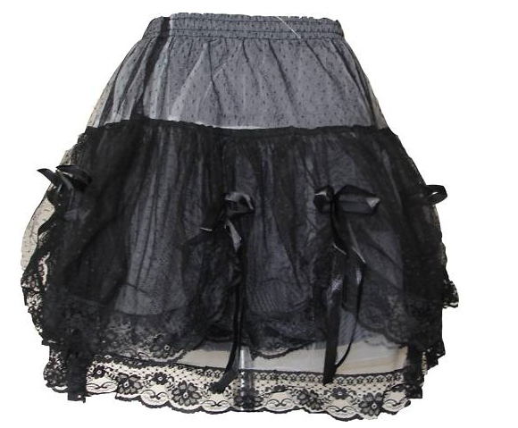 3b2b6e05010 sukně krátká krajka - vampire